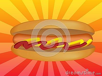 Hotdog illustration