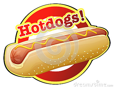 Hot Dog Eating Contest Clipart