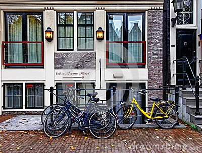 Hotel in Amsterdam Editorial Image