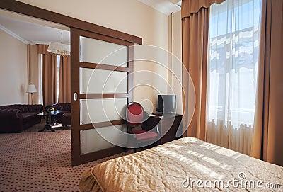 Hotel apartment interior