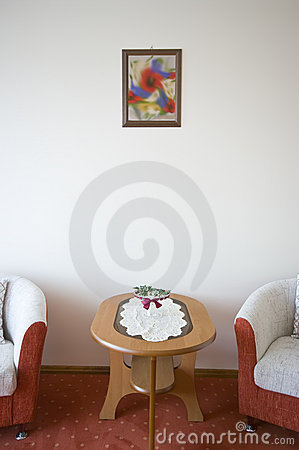 Hotel armchairs