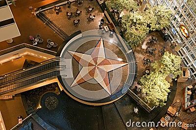 Hotel atrium and lobby