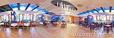 Hotel ballroom panorama