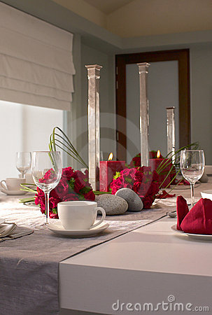 Hotel Banquet Table Royalty Free Stock Photos - Image: 17886108