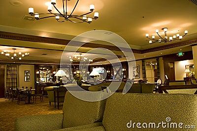 Hotel bar restaurant