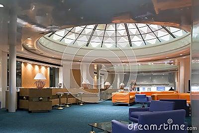 Hotel bar-restaurant interior