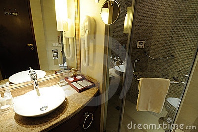 Hotel bathroom interior 12