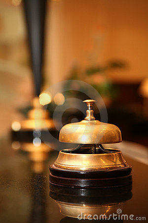Free Hotel Bell Royalty Free Stock Images - 8233509