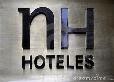 Hotel brand logo Editorial Stock Photo