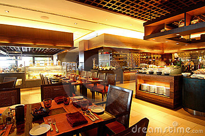 Hotel Buffet Dining Restaurant