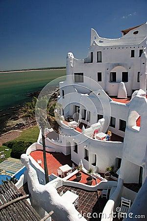 Free Hotel Casapueblo, Punta Del Este, Uruguay Stock Images - 1700814