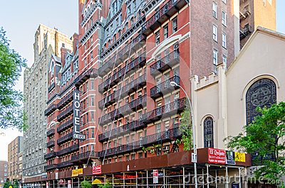 Hotel Chelsea, New York City Editorial Photography