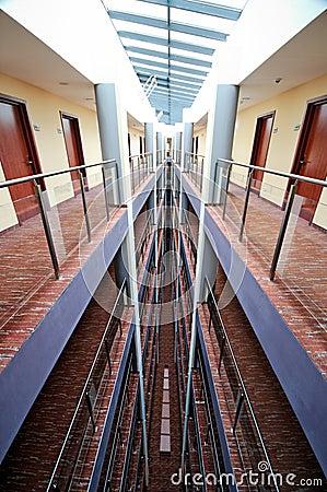 w hotel corridor  Hotel corridor