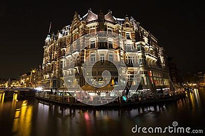 Hotel de l Europe Editorial Photo
