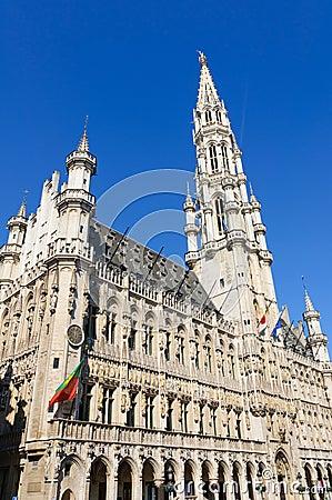 Hotel de Ville (City Hall) of Brussels, Belgium