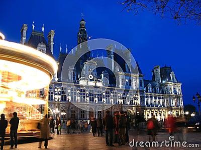 Hotel de Ville, Paris, 02, France