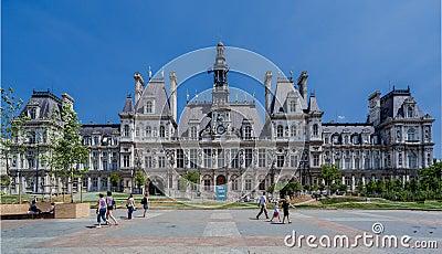 Hotel De Ville Paris Editorial Stock Photo Image 47608008