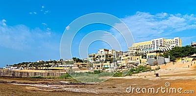 Hotel on the Dead sea, Jordan