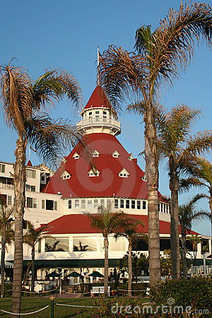 Hotel Del Coronado Dome At Sunset