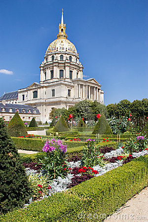 Free Hotel Des Invalides - Paris - France Royalty Free Stock Images - 20704569