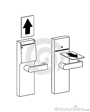 Hotel Door Lock Instructions