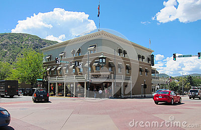 Hotel in Durango Editorial Photography