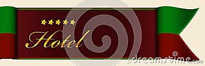 Hotel header or banner