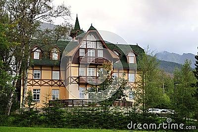 Hotel in high tatras