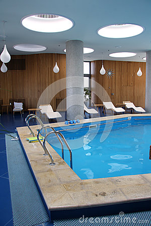 Hotel indoor pool Editorial Photography