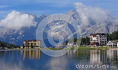 Dolomites - Lake Misurina   Italy