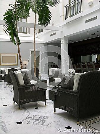 Free Hotel Lobby Royalty Free Stock Image - 12003036