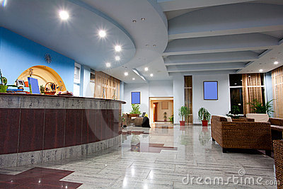 Hotel Lobby Royalty Free Stock Photography - Image: 15817257
