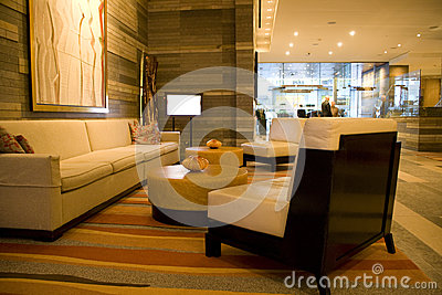 Hotel lobby Editorial Image