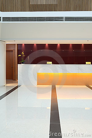 Free Hotel Lobby Stock Image - 7131381