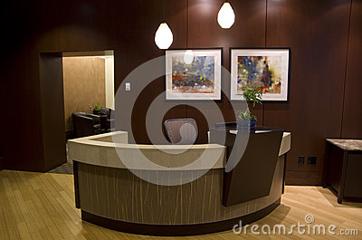 Hotel 1000 lobby Editorial Stock Photo