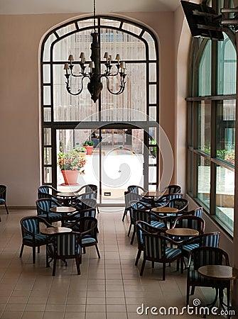 Hotel lobby at San Jose  del Cabo at Sea of Cortez