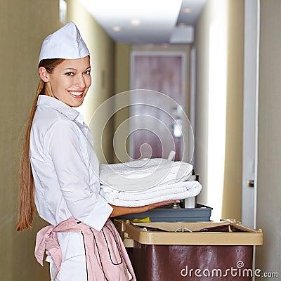 Housekeeper ind: teen babe danielle