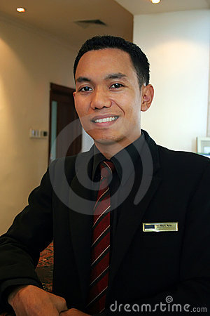 Hotel manager or supervisor