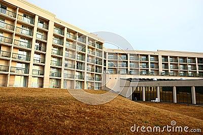 Hotel in morning in buffalo