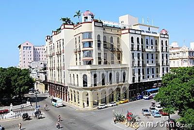 Hotel Parque central in Havana Editorial Stock Photo
