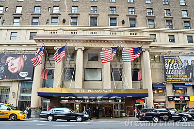 Hotel Pennsylvania Editorial Stock Image