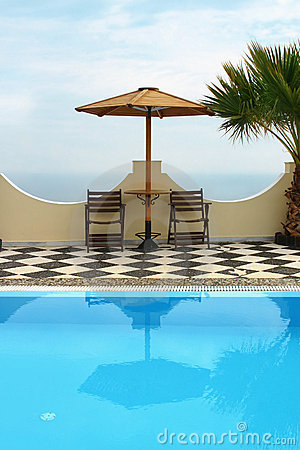 Free Hotel Pool Royalty Free Stock Photography - 1345927