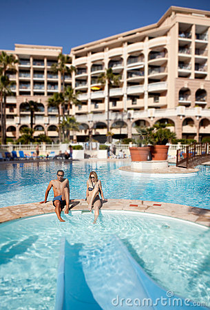 Free Hotel Pool Stock Photography - 14621902
