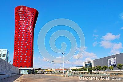 Hotel Porta Fira in Barcelona, Spain Editorial Photo