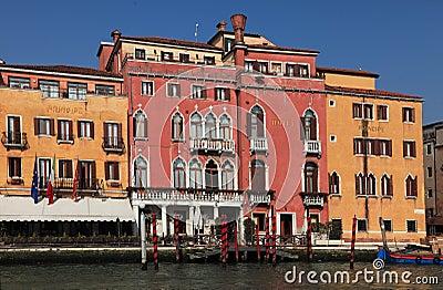 Hotel Principe in Venice Editorial Photo