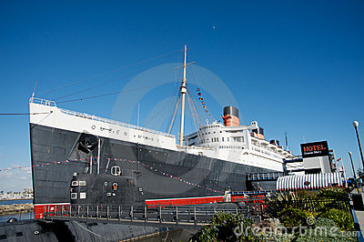 Hotel Queen Mary Editorial Photo