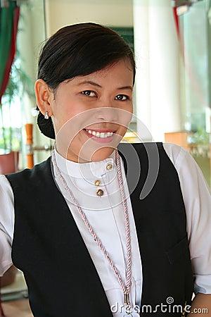 Hotel restaurant staff