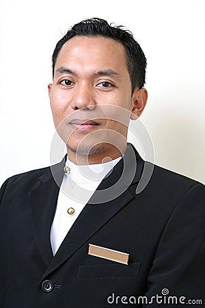Hotel or restaurant uniform