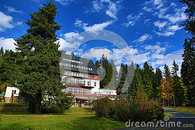 Hotel Rixi, Zelezna Ruda, Boemerwald, Sumava Czech Republic