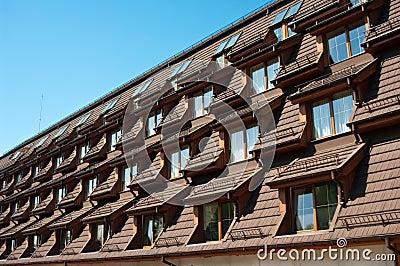Hotel roof windows
